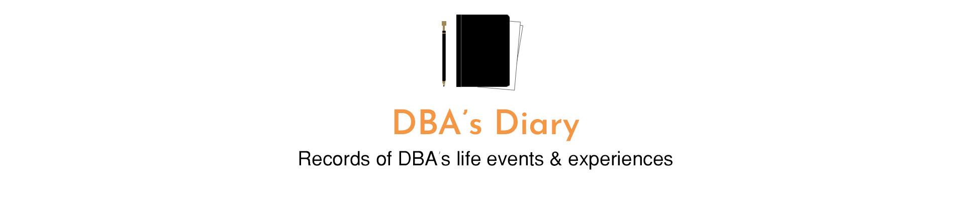 DBA's Diary